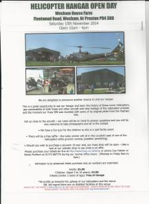 helecopter open day