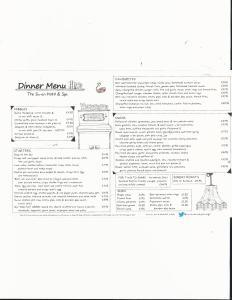 swan menu