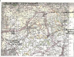 route for 19th August mtg